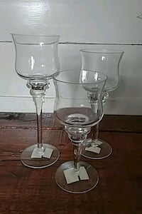 Set of 3 votive/tealight holders Barrie, L4M 5B8