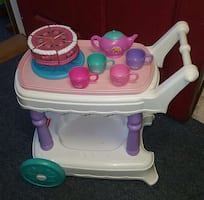 Fisher-Price  Tea Cart with Accessories