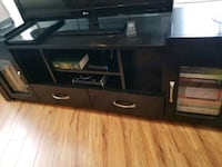 Last chance to buy: black solid wood TV console Abbotsford, V2S 5Y8