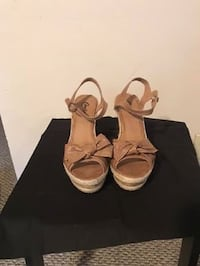 """Size 10 Candies 4"""" heel strappy sandals Ames, 50014"""