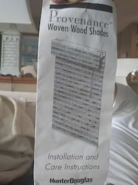 Provenance Woven Wood Shades manual