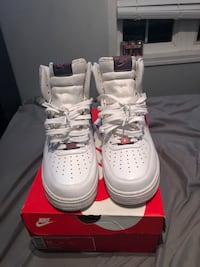 Size 10 High top Nike Air Force 1s