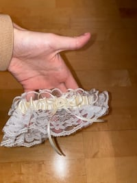 Graduation or Wedding Garter
