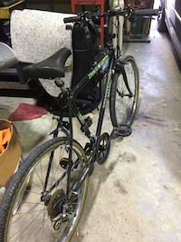 12 speed bike. Triumph ravine. Made in Canada. No rear brakes. Need some tlc Mississauga, L5H 3T7