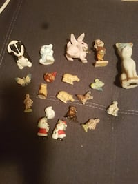 assorted ceramic figurines Victoria, V9A 1N5