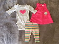 Baby Girl Outfit Set