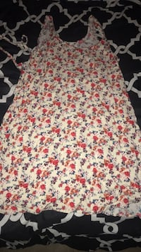 white, red, and green floral textile Stockton, 95210