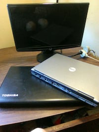 2 laptop's (dont work) and monitor  Akron, 44311