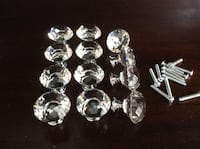 12 Glass Cabinet Knobs Abbotsford