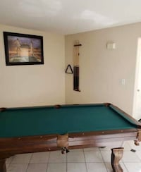 8 ft slate pool table for sale