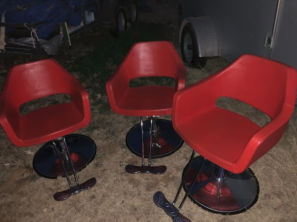 Used Salon Chairs >> Used Red Salon Chairs For Sale In Odessa Letgo