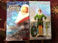 2 Christmas Films on VHS 2250 mi