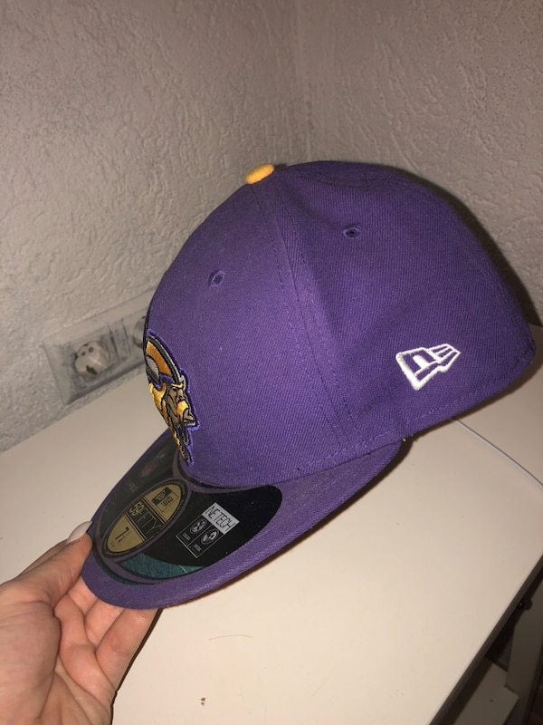 lila New Era 59Fifty Kappe