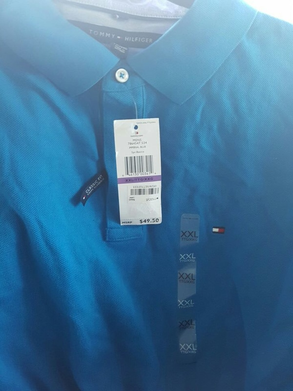 9ea38a05 Used blue TOmmy Hilfiger polo shirt for sale in Washington - letgo