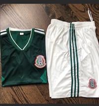New Adult Mexico Nation Soccer jersey sets New York, 11365