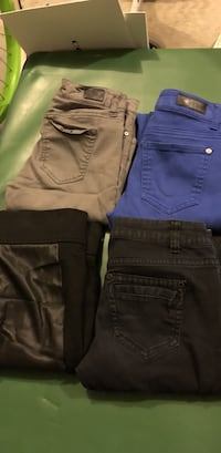 two blue and brown denim jeans Conway, 29527