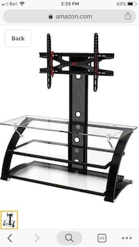 Whalen z-line tv stand with tv mount