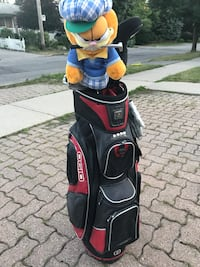Ogio golf bag and clubs, balls, tees and all Toronto, M6A 1T1
