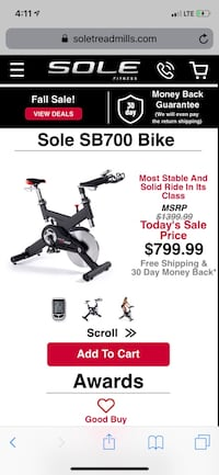 Sole spin Bike New Haven, 06513