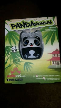 Mini bluetooth speaker -panda Montréal, H1L 4C2