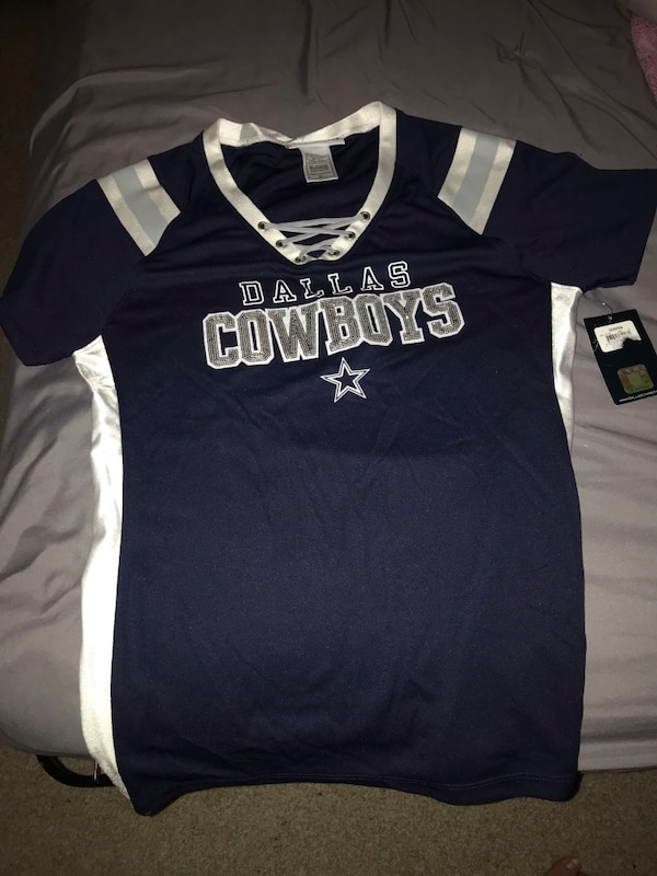Never worn women's cowboy jersey style shirt
