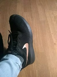 pair of black-and-white Nike running shoes Bellmead, 76705