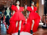 NEW! H&M x Giambattista Valli red dress Торонто, M8V 0C6