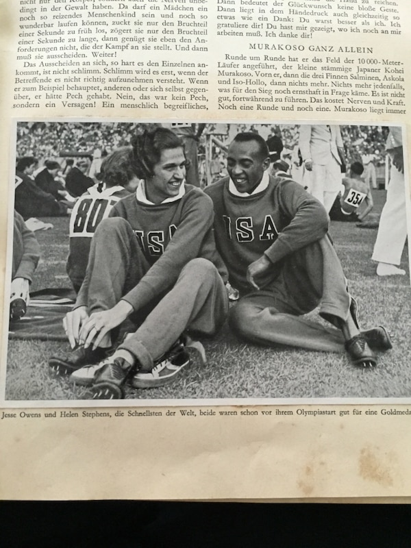 1936 Olympic Books 1 & 2. Made in Germany 7f52330c-bbe9-4d9f-9937-8d3d9cd8bc45