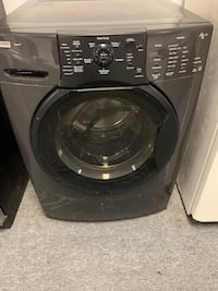 Kenmore front load washer dryer set with warranty  47 km