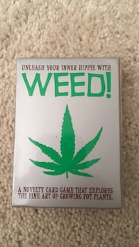 Novelty Weed! Card Game Raleigh, 27615