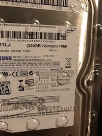 320 gb sata hard drive new 20$ Laval, H7A 1T1