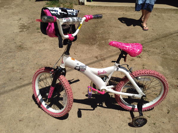 Barbie Bike for 5 year old or older depending on child size $45 Pittsfield, NH, USA