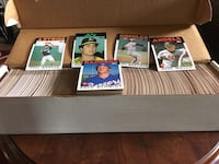 1986 TOPPS BASEBALL COMPLETE SET West View, 15229