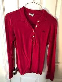 Women's Lacoste long sleeve polo (size 42) Washington, 20037