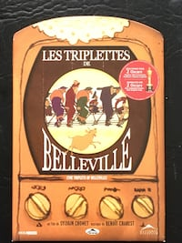 The Triplets of Belleville 2 DVD original edition