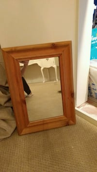 Small pine framed mirror Langley, V3A 3H7