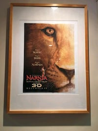 Narnia poster with wooden frame Laval, H7X 3Y6
