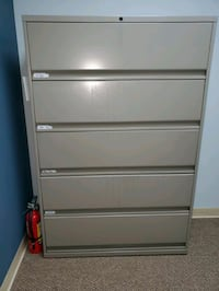 2 Medical office filling cabinets