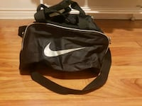 black and gray Nike duffel bag Toronto, M3J 1X4