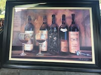 31x44 great condition no glass frame  San Jose, 95112
