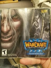 warcraft III cd disc Ontario, L0R 1C0