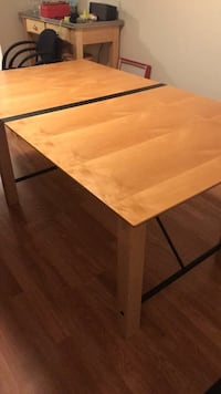 Rectangular Brown Wooded Kitchen Table Chicago, 60614