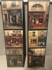 Wall Art / Wood Paintings of store fronts San Antonio, 78260