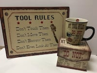 MTL Sign and Tool Rules Mug Barrie, L4N