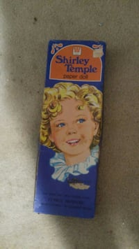 Vintage Shirley temple paper doll Nitro