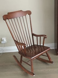Vilas Spindle back Canadian Maple rocking chair