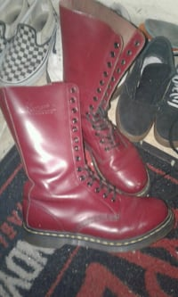14 hole Doc Marten boots Vancouver, V6B 1G4