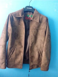 brown zip-up jacket Calgary, T3E 2L6