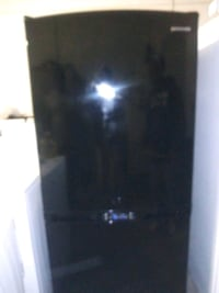 Black Kenmore Bottom Out Refrigerator Fort Worth
