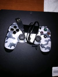 Black Sony PS4 game console 2TB with hookups Terre Haute, 47802